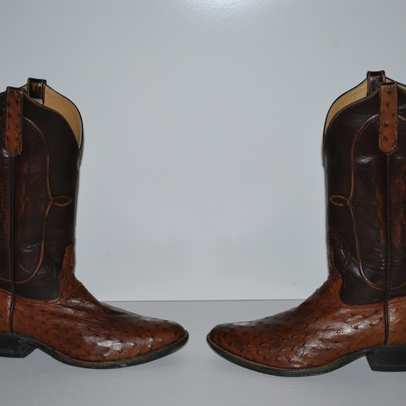 Rios Of Mercedes Full Quill Ostrich Boots In Men S